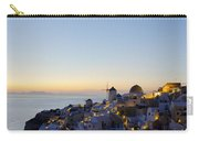 Oia At Dusk Carry-all Pouch