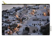Oia Town During Sunset Carry-all Pouch