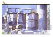 Oil Depot In April Carry-all Pouch by Kip DeVore