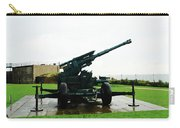 Oil Painting - Anti Aircraft Gun At Dover Castle Carry-all Pouch