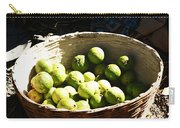 Oil Painting - Based Full Of Guavas Carry-all Pouch