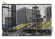 Oil Painting - Floating Platform And Construction Site In The Marina Bay Area Carry-all Pouch