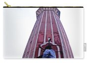 Oil Painting - Minaret Inside Jama Masjid Carry-all Pouch