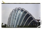 Oil Painting - One Of The Conservatories Of The Gardens By The Bay In Singapore Carry-all Pouch