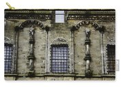 Oil Painting - Renaissance Styled Statues On Royal Palace In Stirling Castle Carry-all Pouch