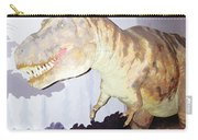 Oil Painting - Thankfully This T Rex Is A Dummy Carry-all Pouch
