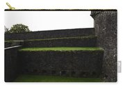 Oil Painting - The Depth Of The Moat Now Covered With Grass At Stirling Castle Carry-all Pouch