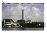 Oil Painting - The Swissotel Is A Tall Hotel In Singapore Next To The Esplanade Carry-all Pouch