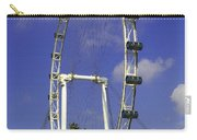 Oil Painting - The Wheel Of Singapore Flyer Carry-all Pouch