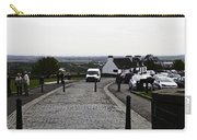 Oil Painting - Van Approaching The Entrance Of The Stirling Castle In Scotland Carry-all Pouch