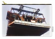 Oil Painting - Bridge As A Part Of Construction Carry-all Pouch