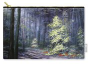 Oil Painting - Forest Light Carry-all Pouch