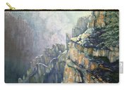 Oil Painting - Majestic Canyon Carry-all Pouch