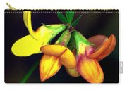 Yellow And Orange Trefoil  Carry-all Pouch