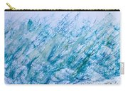 Oil Pastel Marks Carry-all Pouch by Tom Gowanlock