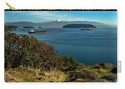 Oil Tankers Waiting Carry-all Pouch by Robert Bales