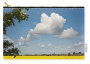 Oilseed Rape Field Against Blue Sky Carry-all Pouch