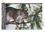 Ok You Caught Me Carry-all Pouch by Deborah Benoit
