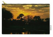 Okavango Sunset Carry-all Pouch
