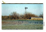 Oklahoma Farm In Winter Carry-all Pouch