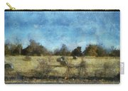 Oklahoma Hay Rolls Photo Art 02 Carry-all Pouch