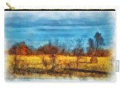 Oklahoma Hay Rolls Photo Art 03 Carry-all Pouch