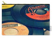Old 45 Records Square Format Carry-all Pouch