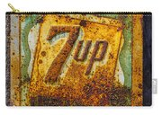 Old 7 Up Sign Carry-all Pouch