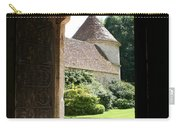 Old Abbey Church Door - Abbey Fontenay Carry-all Pouch