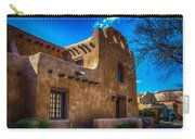 Old Adobe Building Santa Fe New Mexico Carry-all Pouch