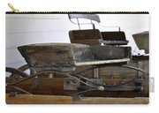 Old American Buckboard Wagon Seats Carry-all Pouch