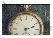Old Antique Pocket Watch Carry-all Pouch