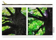 Old Barks Diptych - Deciduous Trees Carry-all Pouch