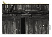 Old Barn Door - Bw Carry-all Pouch