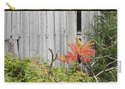 Old Barn In Fall Carry-all Pouch by Keith Webber Jr