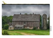 Old Barn On A Stormy Day Carry-all Pouch