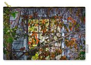 Old Barn Window Vines Carry-all Pouch