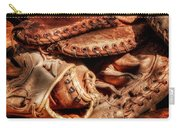 Old Baseball Gloves Carry-all Pouch