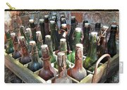 Old Beer Bottles Carry-all Pouch