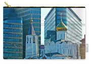 Old Believer-new Believer Church Amid Skyscrapers In Moscow-russia Carry-all Pouch
