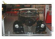 Old Black And White Hardtop Carry-all Pouch