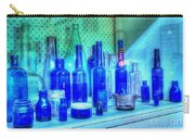 Old Blue Bottles Carry-all Pouch