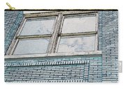 Old Blue Building I Carry-all Pouch