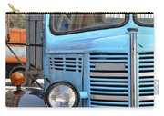 Old Blue Jalopy Truck Carry-all Pouch