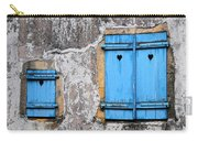 Old Blue Shutters Carry-all Pouch