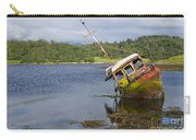 Old Boat In The Loch  Carry-all Pouch