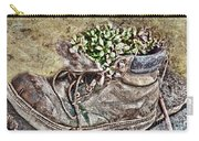Old Boot Flowerpot Carry-all Pouch
