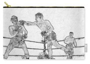 Old Boxing Old Time Carry-all Pouch
