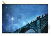 Old Bridge Over River Carry-all Pouch