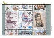 Old British Postage Stamps Carry-all Pouch
